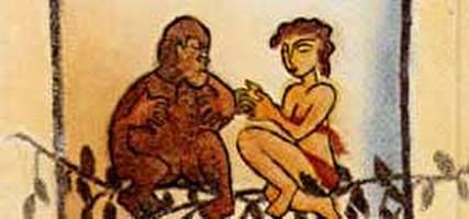האישה והקוף