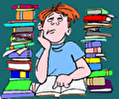 עבודות לימודיות בבית-הספר